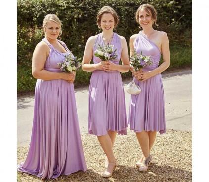 Short Infinity Dress - short bridesmaid Dress in +30 Colors