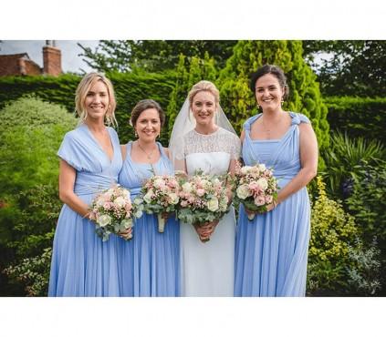 Sash for Infinity Dress, Bridal Sash