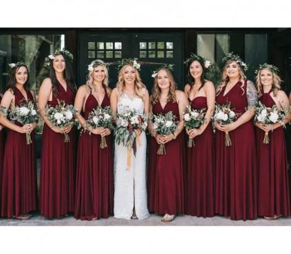 Charcoal Gray Bridesmaid Dresses