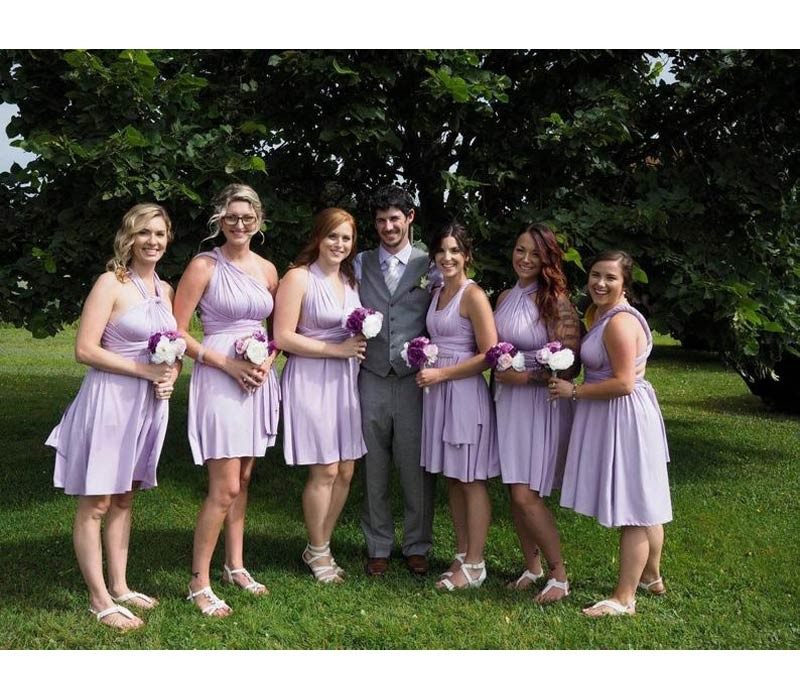 Charcoal Gray Bridesmaid Dresses