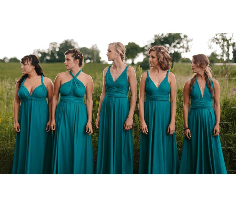Mint Green infinity bridesmaid dresses