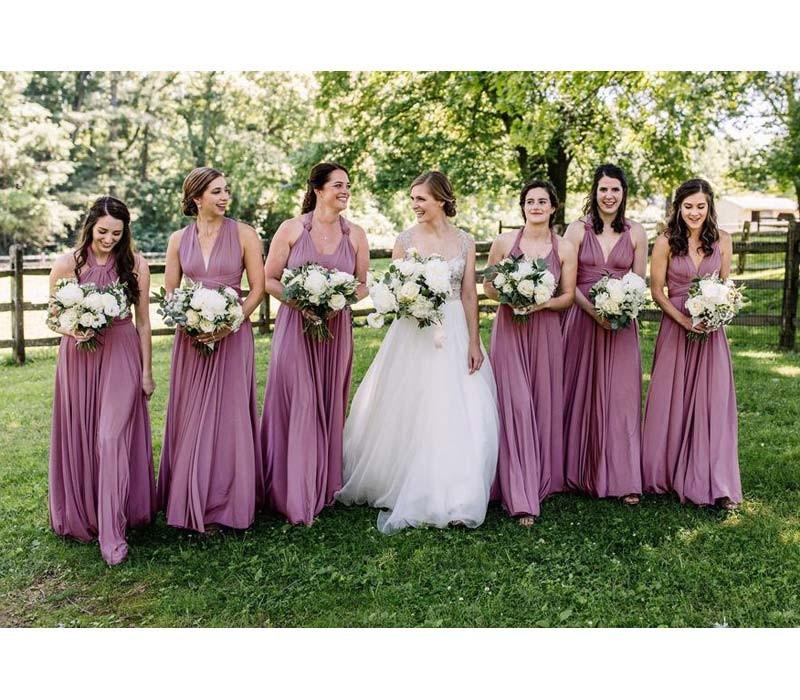 Turquoise Infinity Bridesmaid Dresses