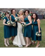 Teal Green Infinity Bridesmaid Dress in + 36 Colors
