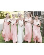 Blush Infinity Bridesmaid Dress in + 36 Colors