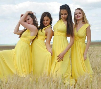 Wisteria infinity bridesmaid dresses