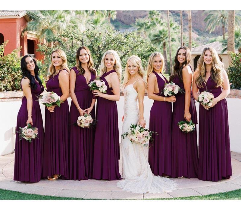 White Infinity Bridesmaid Dresses