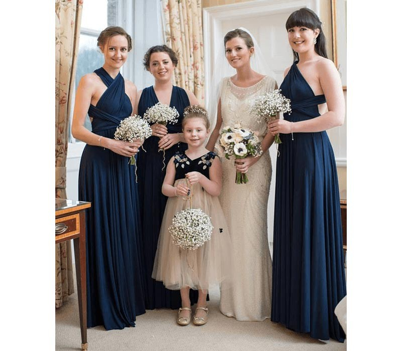 Green infinity bridesmaid dresses