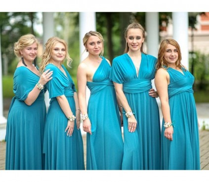 Magenta Infinity Bridesmaid Dresses