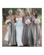 Dusty Blue Infinity Bridesmaid Dress in + 36 Colors