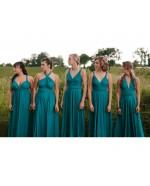 Convertible Sequin Bridesmaid Dress