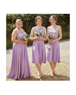 Lilac Infinity Bridesmaid Dress in + 36 Colors