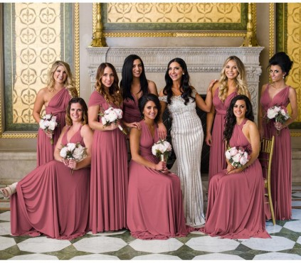 Rosewood Infinity Dress Convertible bridesmaid dress