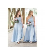 Baby Blue Infinity Bridesmaid Dress in + 36 Colors