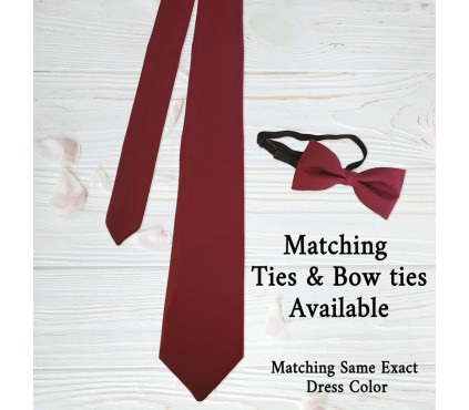 matching ties for infinity dress